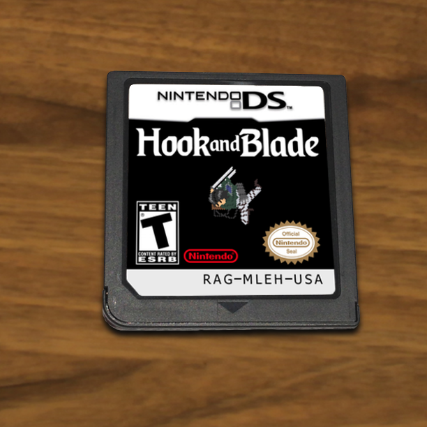 Hook and Blade Nintendo DS Cartridge