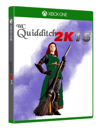 World Cup Quidditch 2K15 Xbox One Box Art