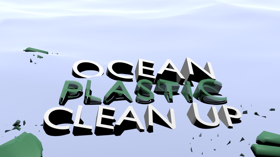 Ocean Plastic Clean Up title screenshot